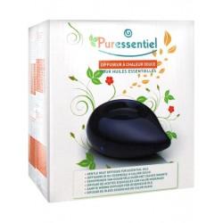 Puressentiel - Diffusore oli essenziali a calore dolce in ceramica blu